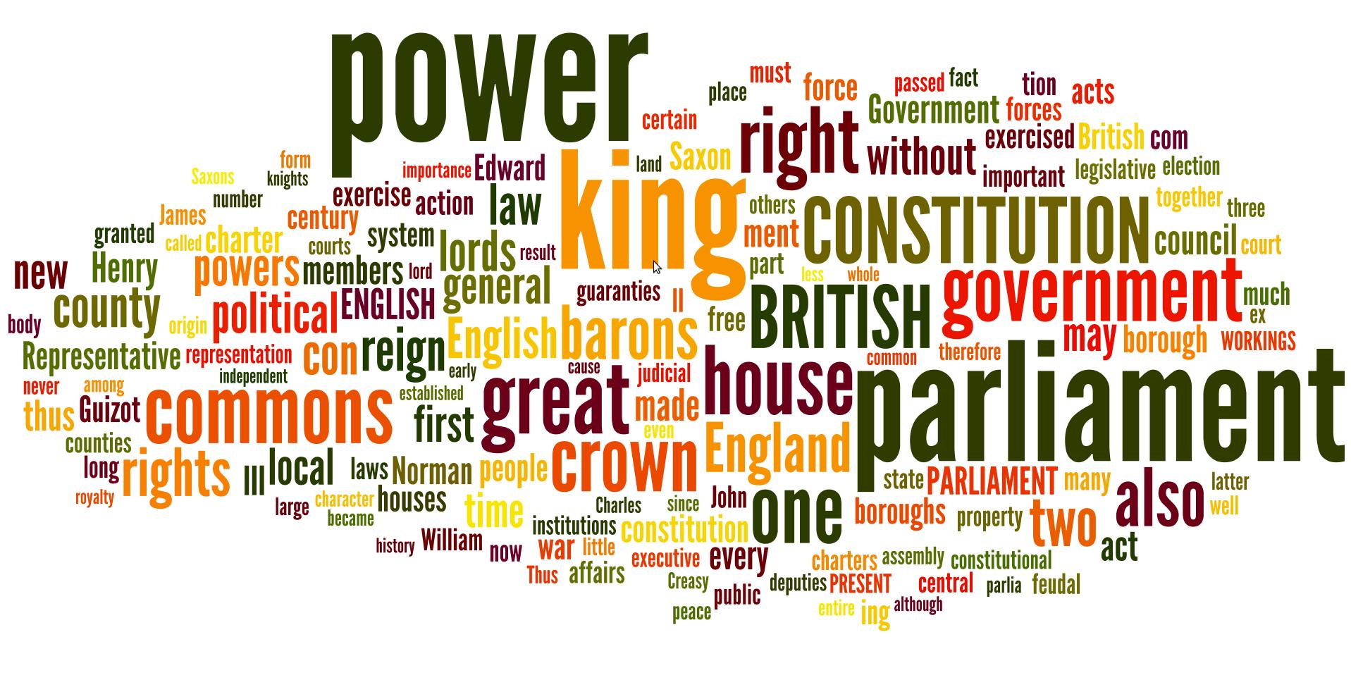 constitution comparison essay