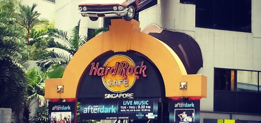 Hard Rock Cafe Just behind our hotel