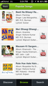 Screenshot - Popular Songs