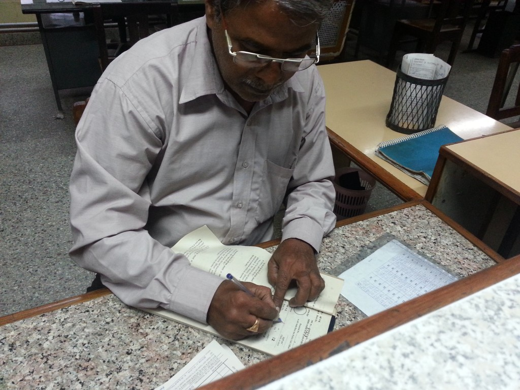 Was a very busy day for Mr. Puttaswamy