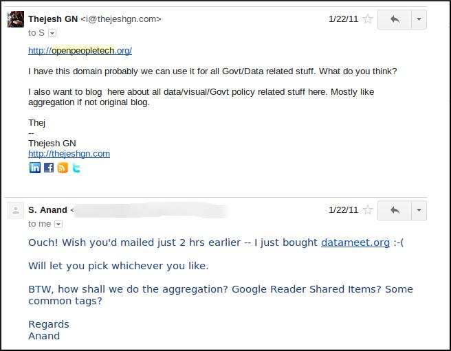 datameet 0 mail