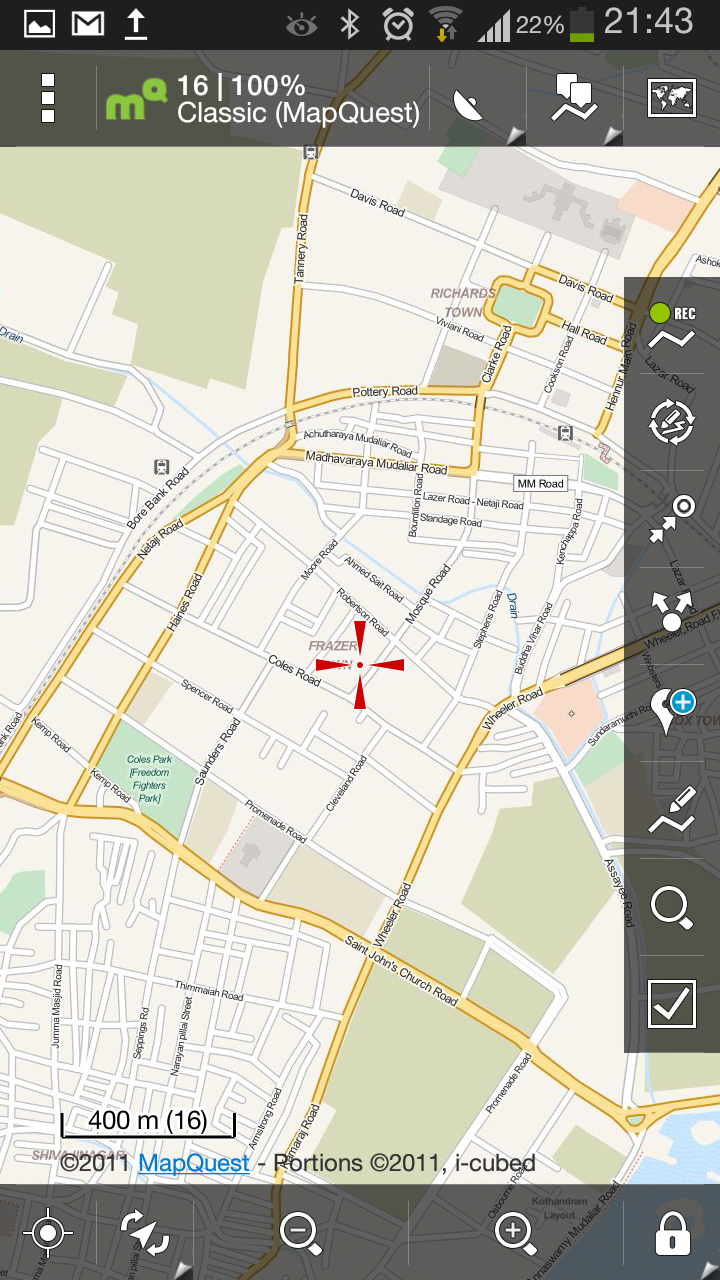 Locus the best Android Map App for Geek Travellers | Thejesh GN