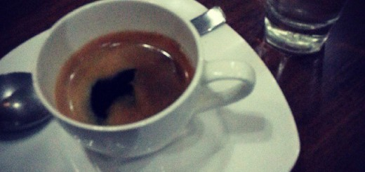 Good Coffee to end the day.