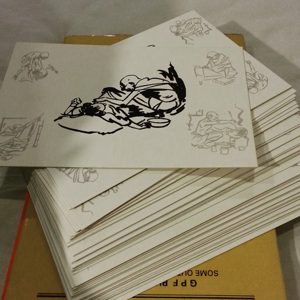 Cards from Sabramati Ashram
