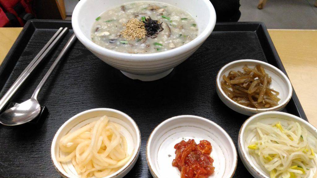 Mushroom and  Oyster Porridge