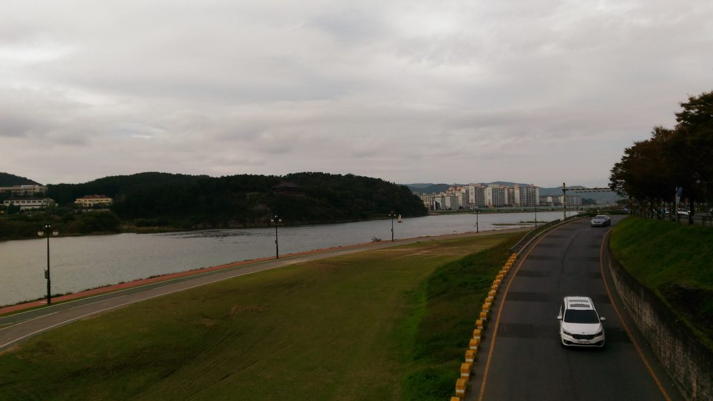 Gwangju riverside walk
