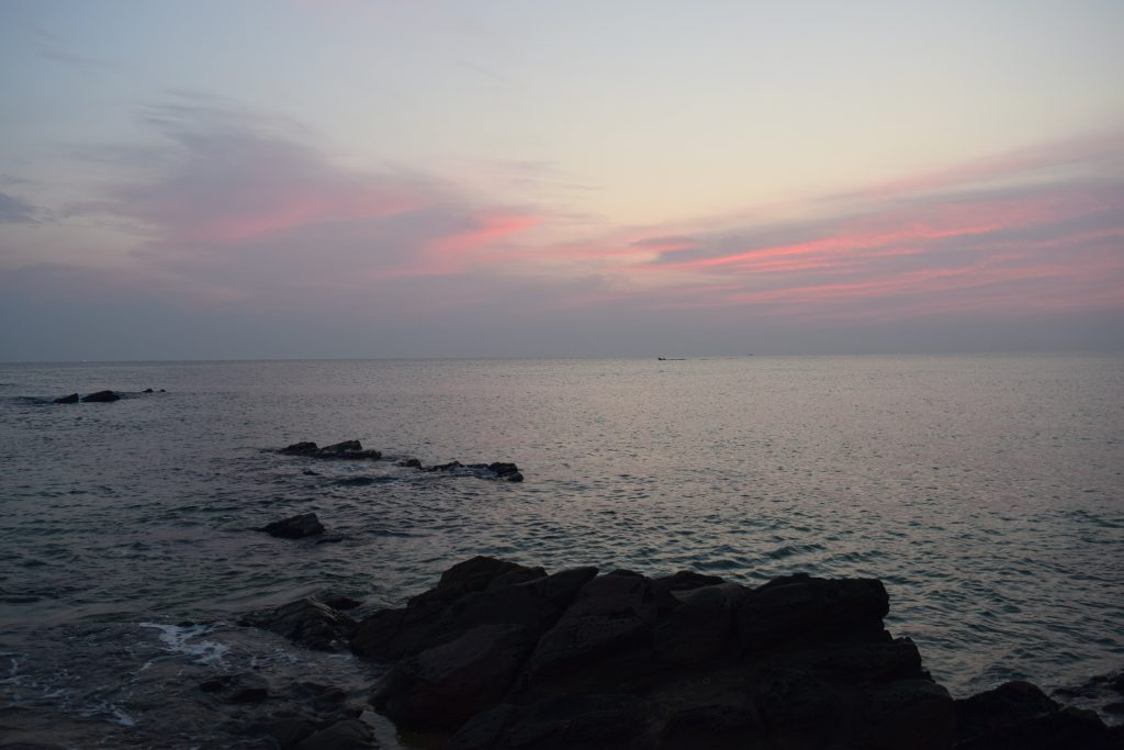 Sunrise at Jeondongjin beach