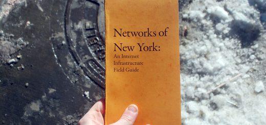 Networks of New York - Ingrid Burrington's Book. ©️ Ingrid Burrington.