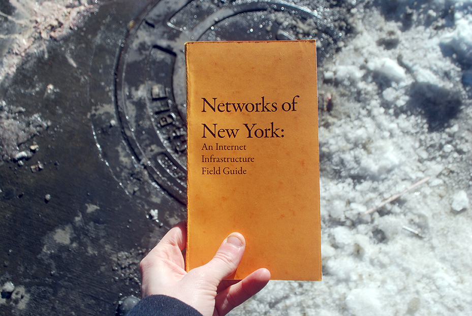 Networks of New York - Ingrid Burrington's Book. ©️ Ingrid Burrington.