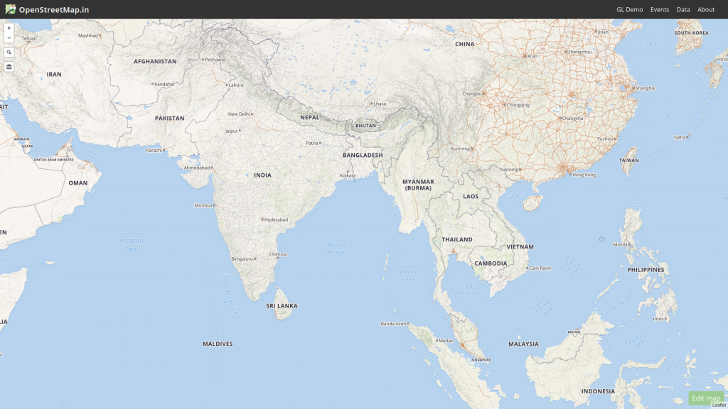OpenStreetMap (OSM) is a collaborative project to create a free editable map of the world.