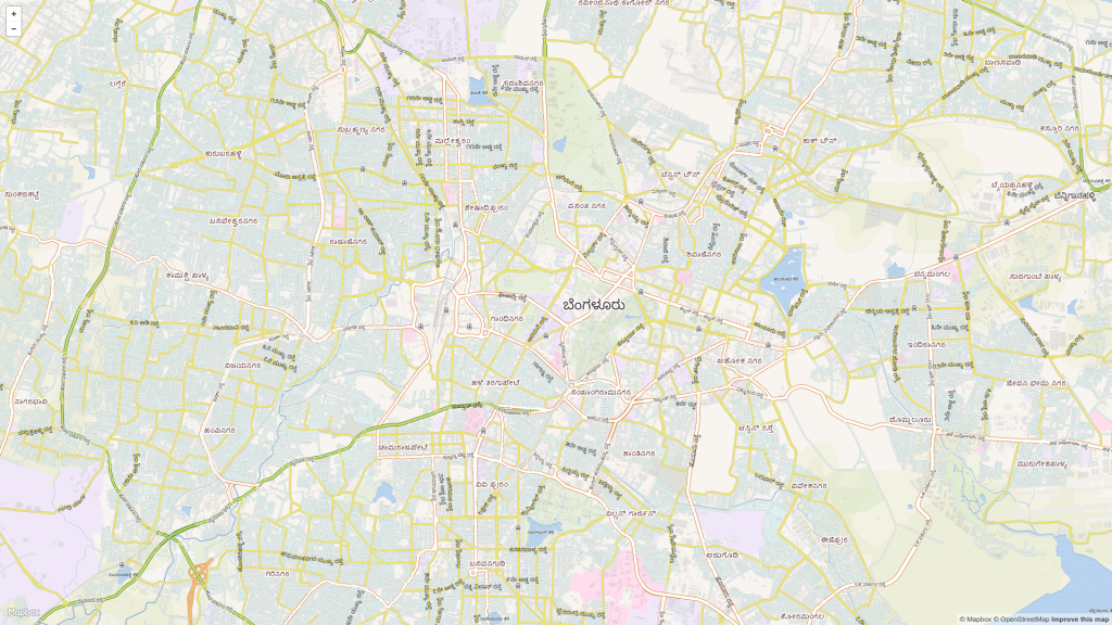 OpenStreetMap seems to be my only hope WRT local language maps.