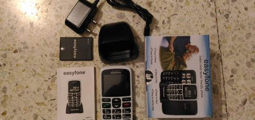 Unpacking easyfone