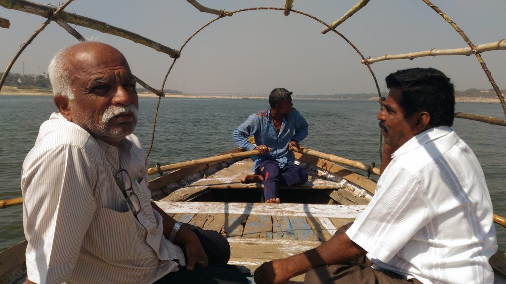 On our way back from Sangam.