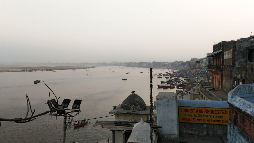 View of Ghats