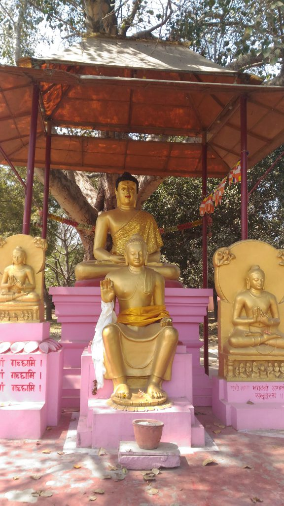 Buddha image at Sarnath