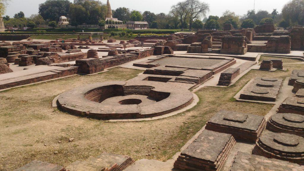 Dharmarajika Stupa remains