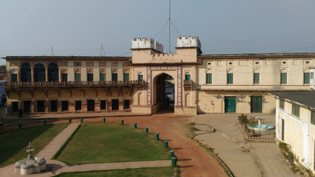 Ramnagar palace entrance