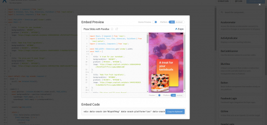 Expo Browser Preview