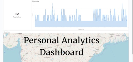 Personal Analytics Dashboard