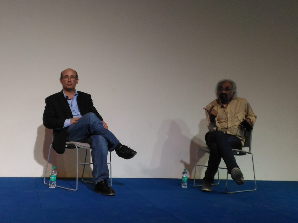 Carl Malamud and Dr. Sam Pitroda