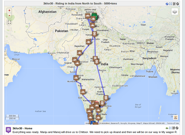 Geo Mapping in Wordpress Blogs | Thejesh GN on