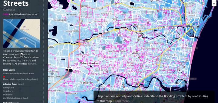Chennai Flood Maps