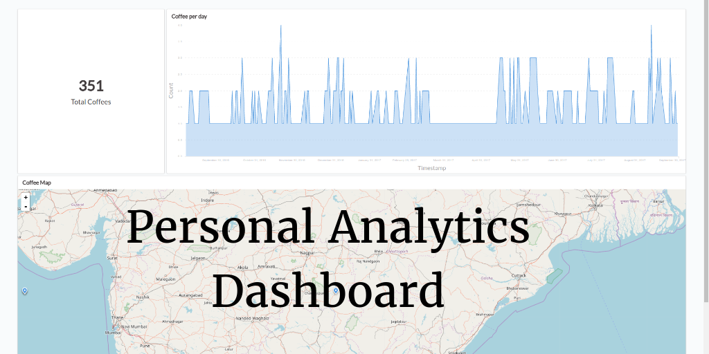 Personal Analytics Dashboard using Metabase and Nomie