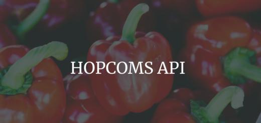 HOPCOMS API