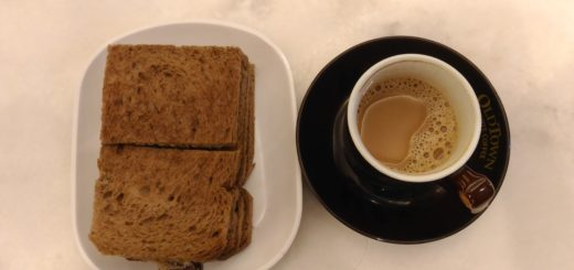 Old Town White Coffee and Toast