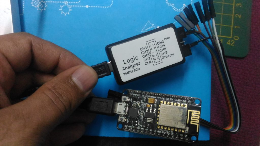 It's a no name device, as big as match box. Here connected to test D7 of NodeMCU (ESP8266).