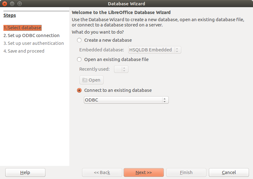 Using SQLite with Libreoffice Base on Linux | Thejesh GN