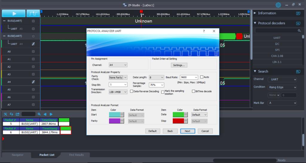 UART Protocol Analyzer