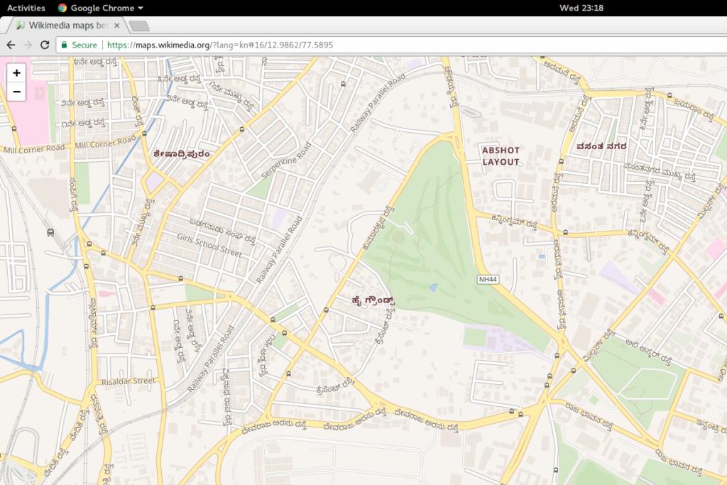 Wikimedia Kannada Maps