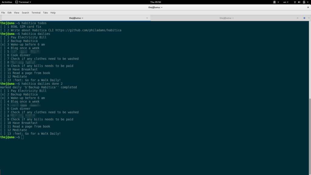 You can use CLI if you dont like Web or App.