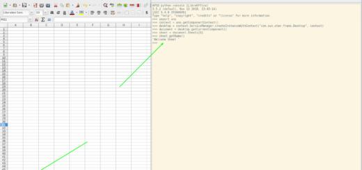 Screenshot of Python Cosole