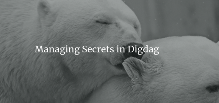 Managing Secrets in Digdag