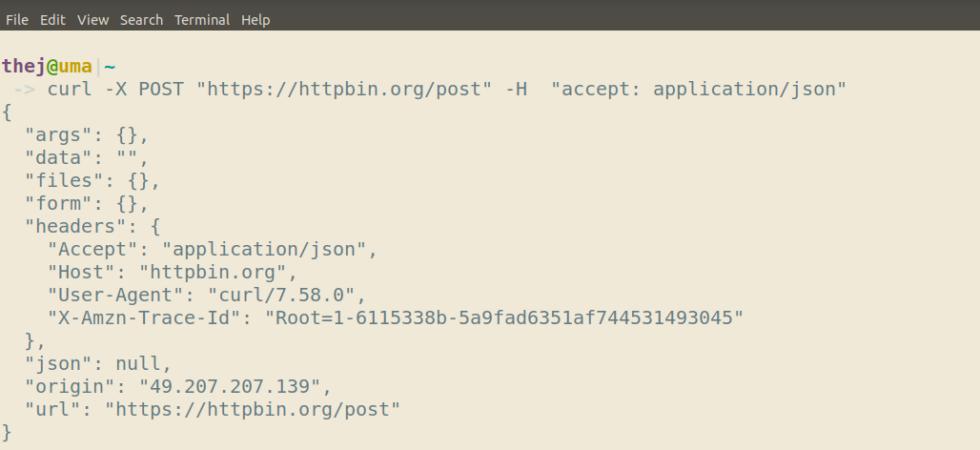 Using httpbin